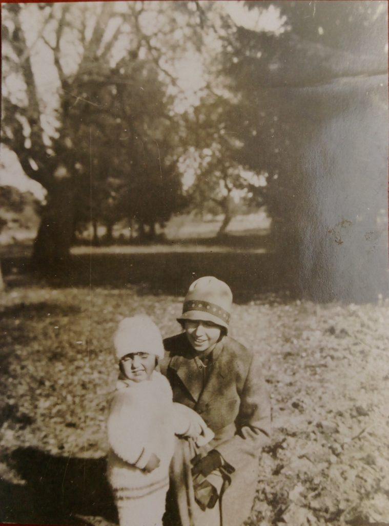 Anna Drecka z córką Krystyną