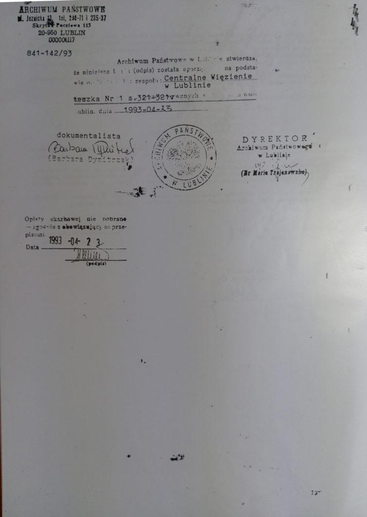 Dokumenty Urzędu Bezpieczeństwa Publicznego