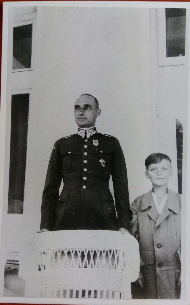 Kazimierz Drecki z synem Włodzimierzem